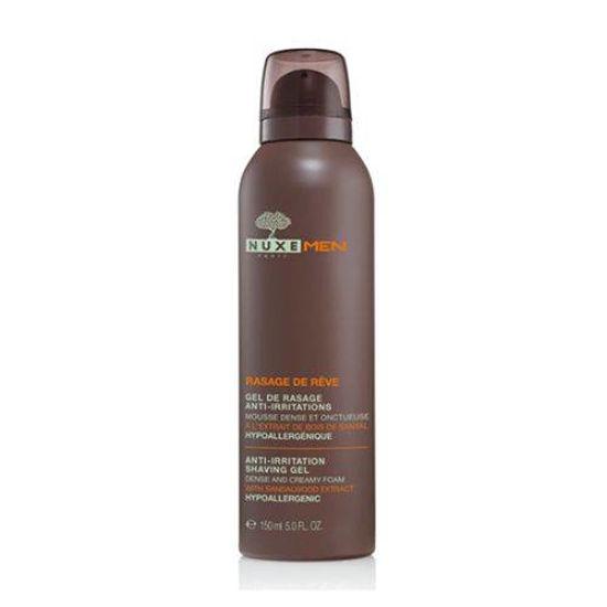 Nuxe Men gel za britje proti razdraženi koži, 150 mL