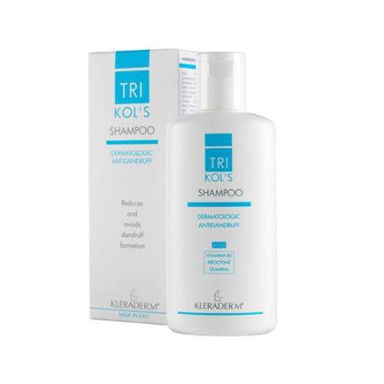 Kleraderm TRIKOL'S pH 5 dermatološki šampon proti prhljaju, 200 mL