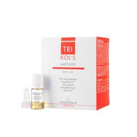 Slika Kleraderm TRIKOL'S pH 5 ampule za lase stimulirajo rast las , 12x5 mL