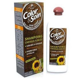 Slika Color&Soin šampon za temne lase, 250 mL