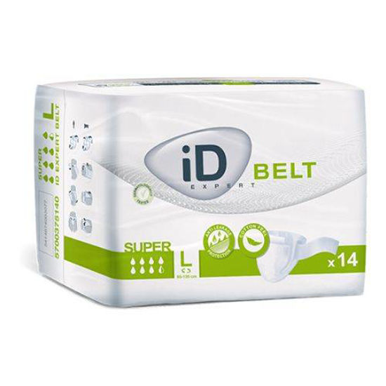iD Belt Super Large hlačne predloge s pasom, 14 predlog
