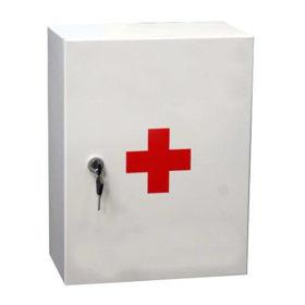 Slika Tosama omarica za prvo pomoč (kovinska) z vsebino
