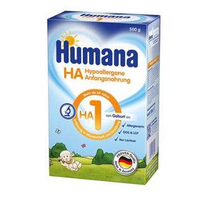 Slika Humana HA 1 hipoalergena začetna formula za dojenčke od rojstva naprej, 500 g