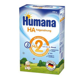 Slika Humana HA 2 hipoalergena nadaljevalna formula za dojenčke in majhne otroke, 500 g