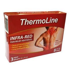 Slika ThermoLine terapevtski infra-rdeči toplotni obliži 29 x 9 cm, 3 obliži