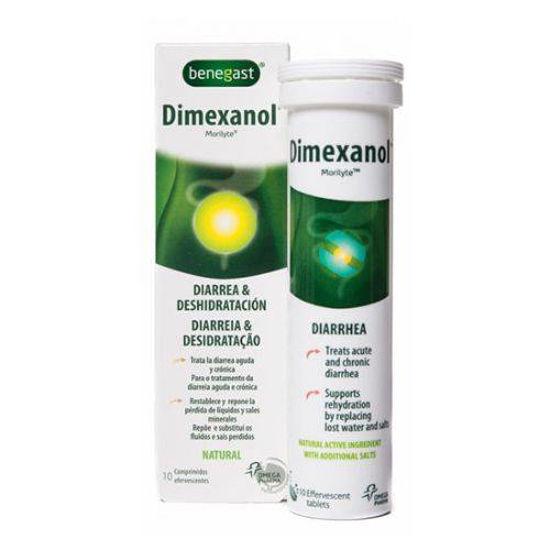 Benegast Dimexanol za drisko, 10 šumečih tablet