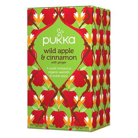 Pukka Wild Apple & Cinnamon, 20 čajnih vrečk