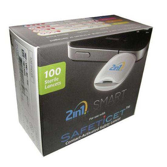 2in1 Smart Safety lancete, 100 lancet