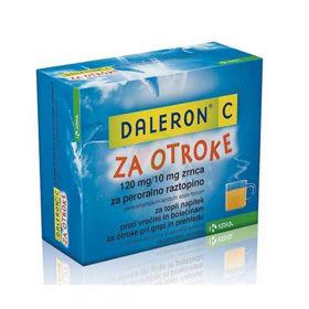 Slika Daleron C za otroke zrnca za peroralno raztopino, 20x5 g