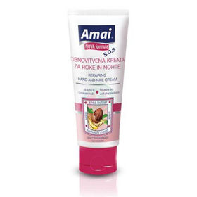 Slika Amai obnovitvena krema za roke in nohte za suho in razpokano kožo, 100 mL