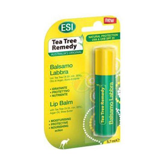 Tea Tree Remedy balzam za ustnice s SPF 20, 5,7 mL