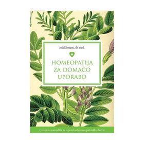 Slika Homeopatija za domačo uporabo, Jošt Klemenc, dr. med.