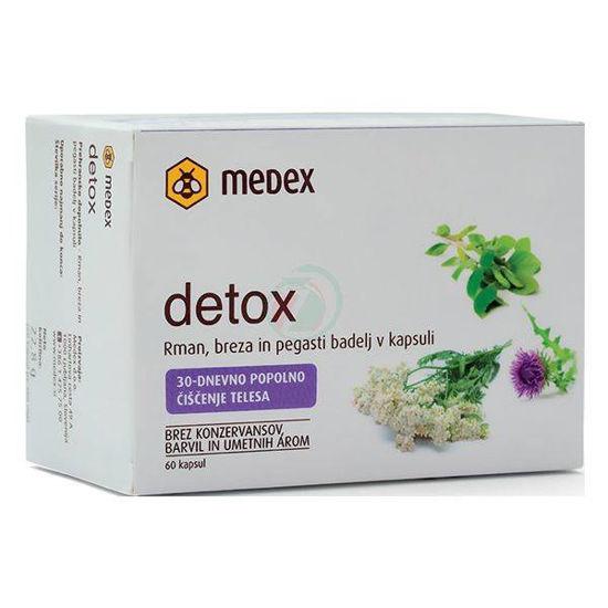 Detox 30 dnevno čiščenje, 60 kapsul