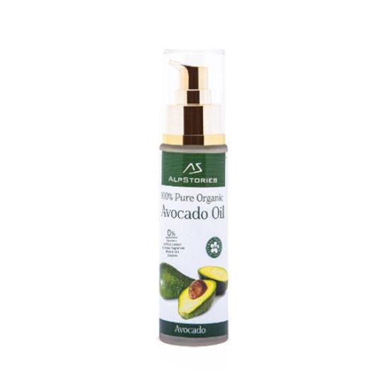 AlpStories hladno stiskano avokadovo olje, 50 mL