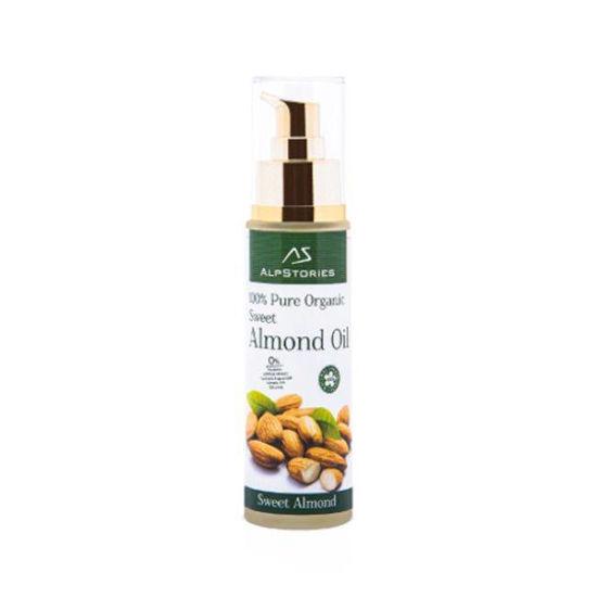 AlpStories hladno stiskano olje sladkega mandlja, 50 mL