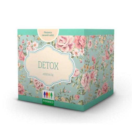 Fidimed Detox zeliščni čaj, 60 g