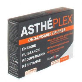 Slika AsthePlex pri telesni izčrpanosti, 30 kapsul