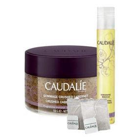 Slika Caudalie cabernet piling + oblikovalni koncentrat + GRATIS Caudalie čaj