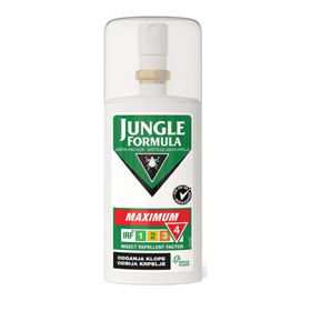 Slika Jungle Formula Maximum zaščita pred klopi, 75 mL