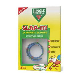 Slika Jungle Formula Slap-It zapestnica proti komarjem za otroke, 1 zapestnica