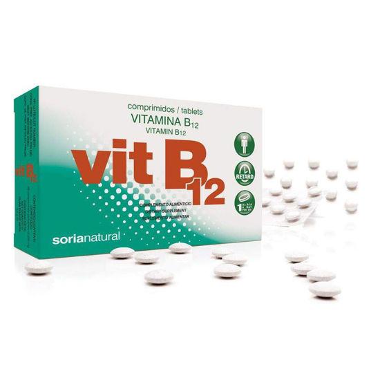 Soria Natural B12 vitamin retard, 48 tablet