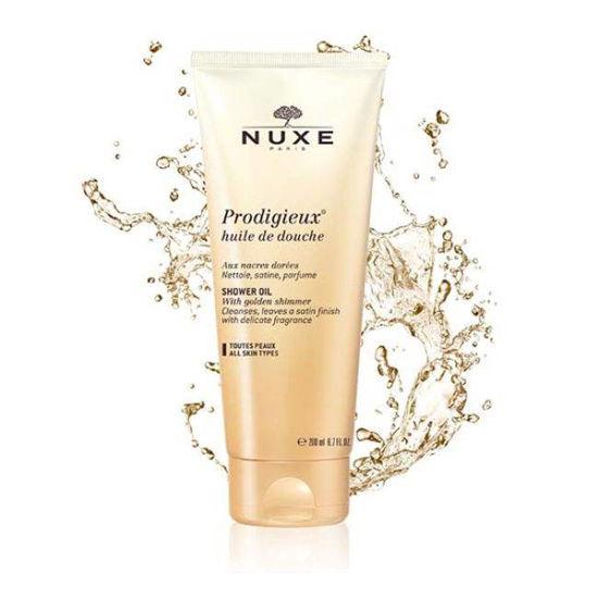 Nuxe Prodigieux oljni gel za prhanje, 200 mL