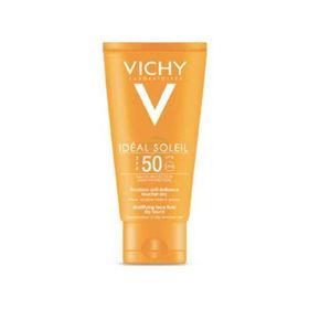 Slika Vichy Ideal Soleil Dry Touch matirajoči fluid spf 30, 50 mL