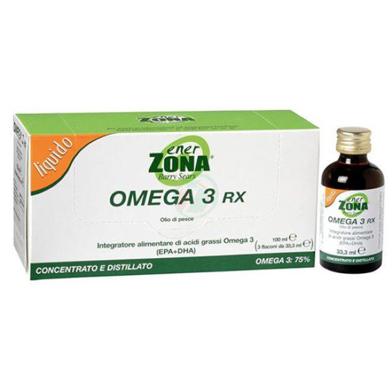 EnerZona Omega 3 RX ribje olje, 5x33,3 mL