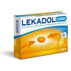 Slika Lekadol Combo prašek za peroralno raztopino, 20 vrečk