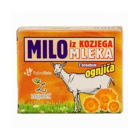 Slika Milo iz kozjega mleka z dodatkom ognjiča, 70 g