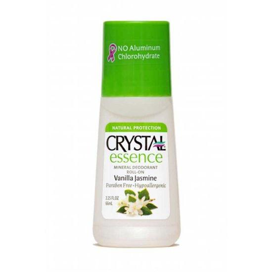Crystal essence vanilija & jasmin roll-on, 65 mL
