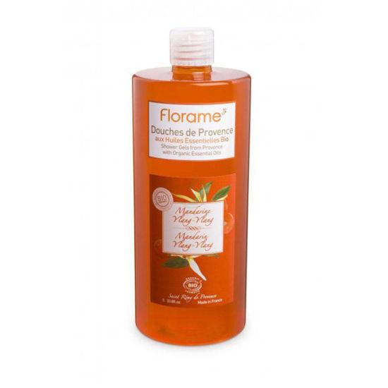 Florame gel za prhanje mandarina - ylang, 1000 mL
