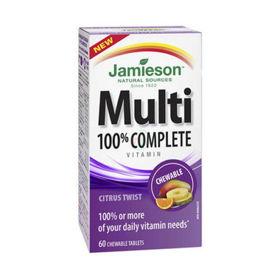 Slika Jamieson Multi 100% Complete multivitamini in minerali za odrasle, 60 tablet