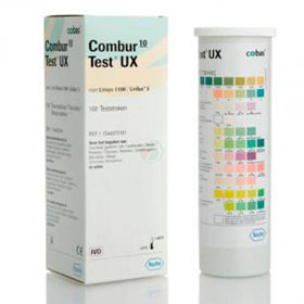 Slika Combur 10UX urinski testni trak, 100 trakov