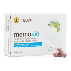 Slika MemoAid za umsko zmogljivost, 30 kapsul