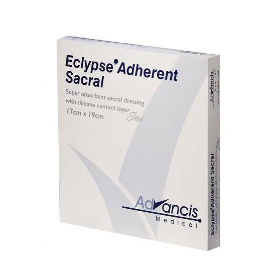 Eclypse Adherent Sacral visoko vpojna obloga za križnico 17x19 cm, 10 oblog - CLONED