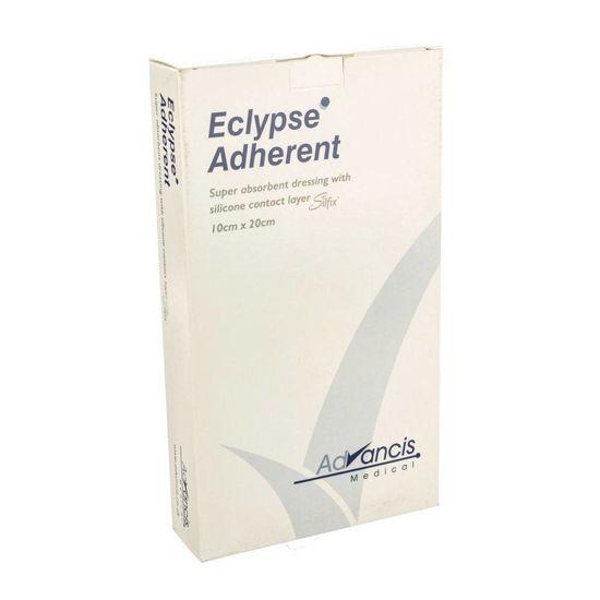 Eclypse Adherent visoko vpojne obloge s stično plastjo 15x15 cm, 10 oblog