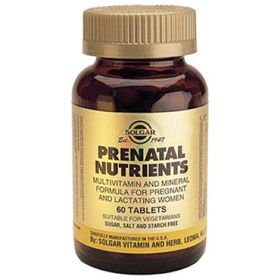 Slika Solgar Prenatal multivitamini za nosečnice