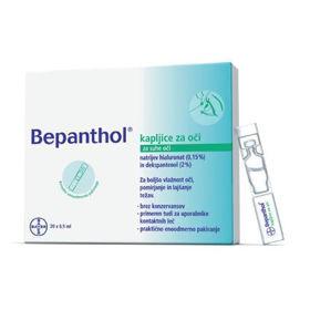 Slika Bepanthol kapljice za oči, 20x0,5 mL