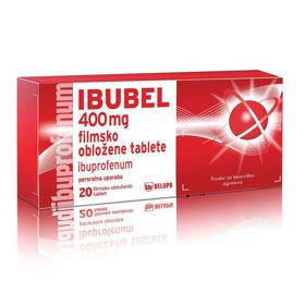 Slika Ibubel 400 mg filmsko obložene tablete