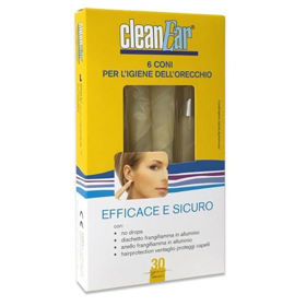 Slika CleanEar stožec za ušesno higieno, 6 kom.