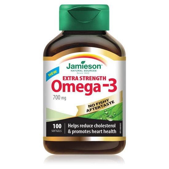 Jamieson Omega-3 Ekstra močna, 100 kapsul
