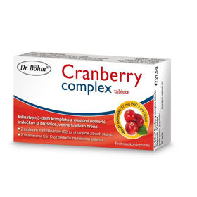 Slika Dr. Böhm Cranberry Compleks, 30 tablet