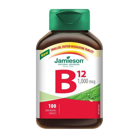 Jamieson vitamin B12 1000 µg, 100 tablet