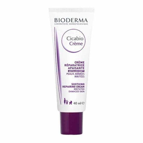 Bioderma Cicabio Creme - Pomirjajoča krema za obnavljanje poškodovane kože, 40 mL