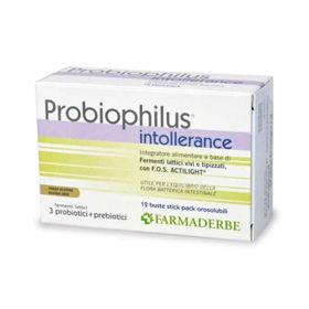 Slika Farmaderbe Probiophilus Intollerance, 12 vrečic
