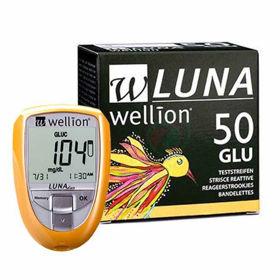 Slika Wellion Luna Trio merilni lističi za glukozo, 50 lističev