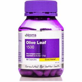 Slika Blooms oljčni listi 1500 mg, 60 kapsul