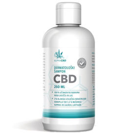 Slika Alpha CBD dermatološki šampon, 250 mL