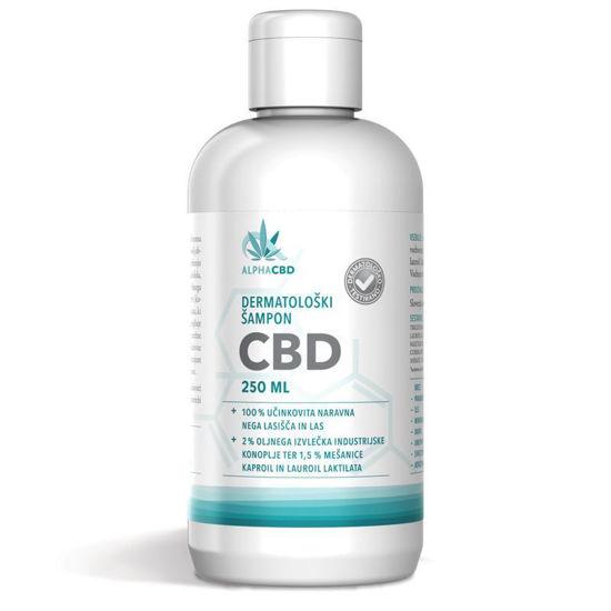 Alpha CBD dermatološki šampon, 250 mL